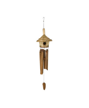 THATCHED ROOF BIRDHOUSE