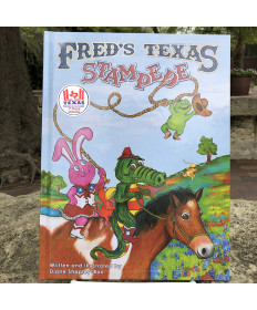 FRED'S TEXAS STAMPEDE BY DIANE SHAPLEY BOX